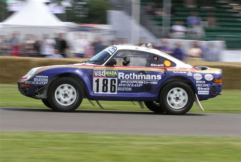 porsche dakar porsche 959 dakar racer goodwood festival of speed flickr