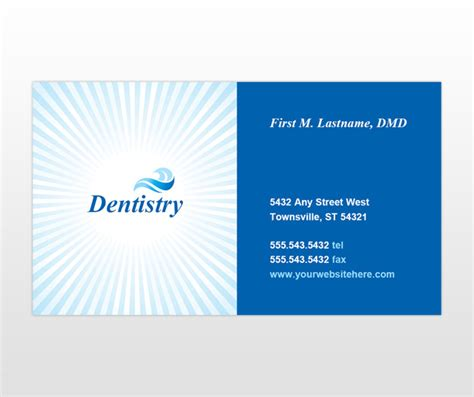 family business card template cosmetic family dentistry dental hygiene business card
