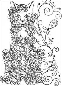 coloring stress relief fox coloring book stress relief coloring pages