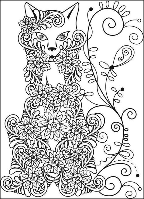 color book fox coloring book stress relief coloring pages