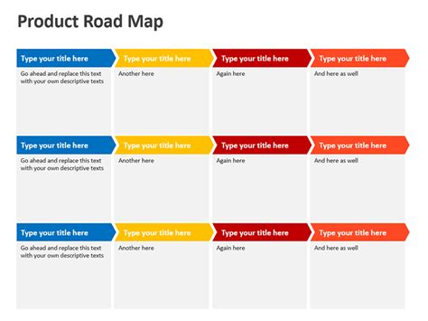 best photos of blank road map powerpoint template