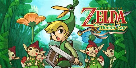 Legend Of Nintendo the legend of the minish cap boy advance