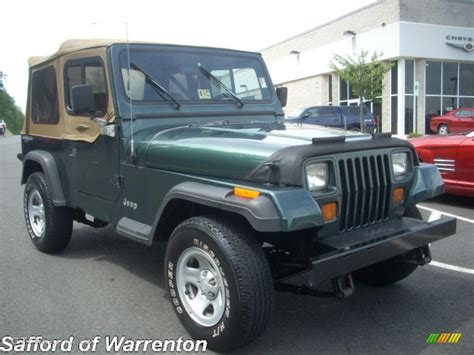 1994 green metallic jeep wrangler s 4x4 17200510 photo 2 gtcarlot car color