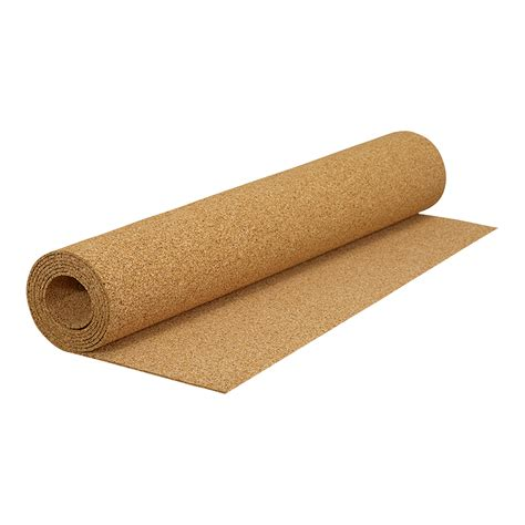 natural cork underlayment roll qep