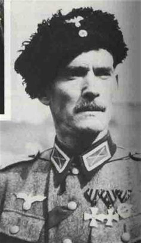 hitlers russian cossack cossack general ivan kononov wehrmacht war crimes history history photos and