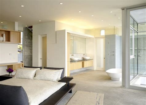 Nice Homes Interior by Incredible Open Bathroom Concept For Master Bedroom