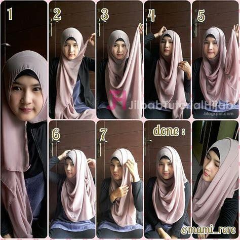 tutorial hijab pasmina untuk wajah bulat dan tembem tutorial hijab pashmina untuk ke kus jilbab tutorial