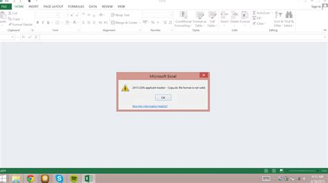 cd format error excel files saving in invalid file format microsoft