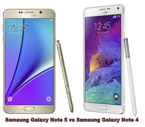 samsung galaxy note 5 vs galaxy note 4 what s different