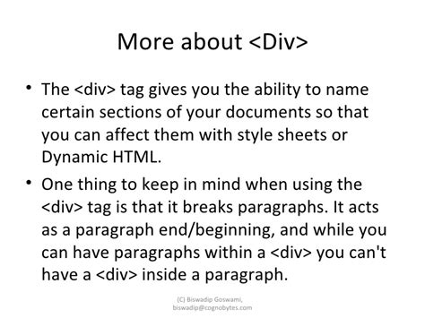 div and span tags span and div tags in html