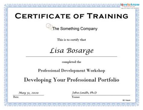 course certificate template 6 free certificate templates excel pdf formats