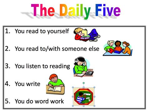 classroom layout for daily five the daily five