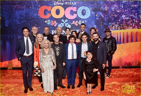 coco cast jonathan groff idina menzel join coco cast at marigold
