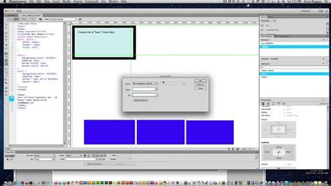 tutorial html css dreamweaver dreamweaver cc the css box model youtube