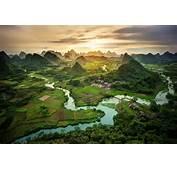 Montagnes Du Guangxi Chine