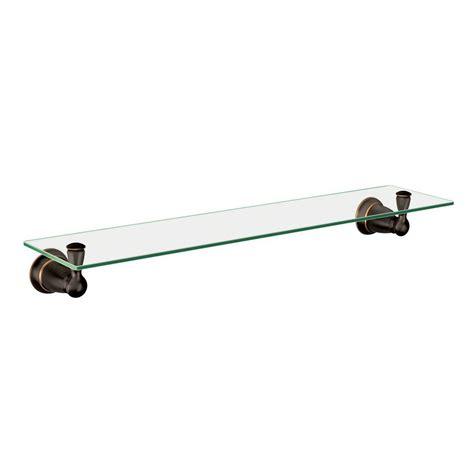 Moen Glass Shelf by Moen Banbury 5 4 25 In L X 3 In H X 22 3 4 In W Wall