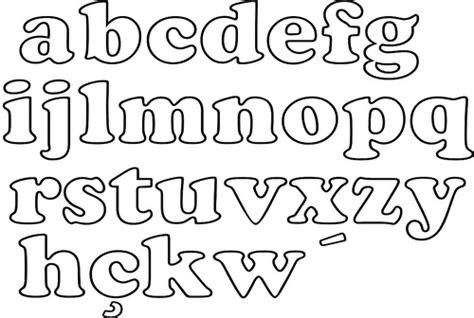 moldes de letras mayusculas y minusculas para imprimir y recortar abecedario en letra de molde may 250 scula y min 250 scula imagui
