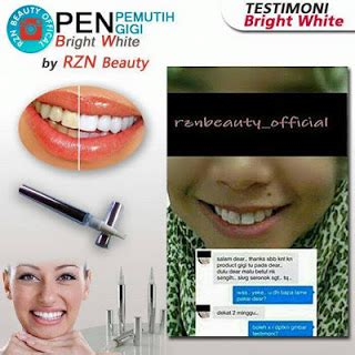 pen pemutih gigi bright white by rzn 11street malaysia accessories