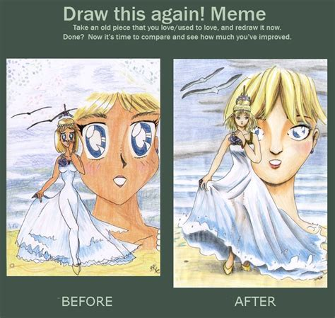 Draw It Again Meme - draw it again meme sakana by akaszik on deviantart