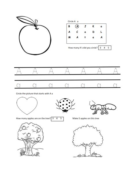 Free Preschool Worksheets For 3 Year Olds by Second Tot Time