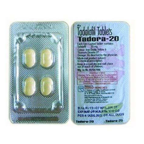 Tadora Tadalafil 20 Mg Tablet German Remedies | tadora 20mg by german remedies tadalafil 20mg
