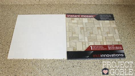 how to install peel and stick backsplash how to install a peel stick mosaic tile kitchen