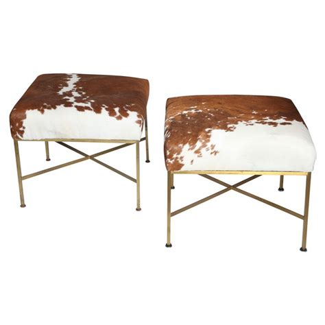 cowhide chair and ottoman 1000 ideas about cowhide ottoman on pinterest ottomans