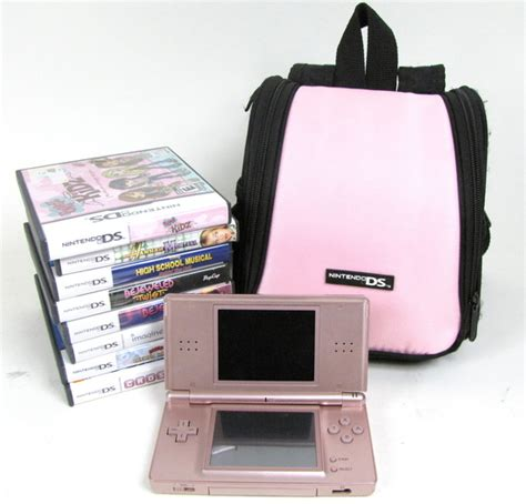 More Ds Lite Plush Goodness by Nintendo Ds Lite Metallic Pink Usg 001 With 7 Stylus