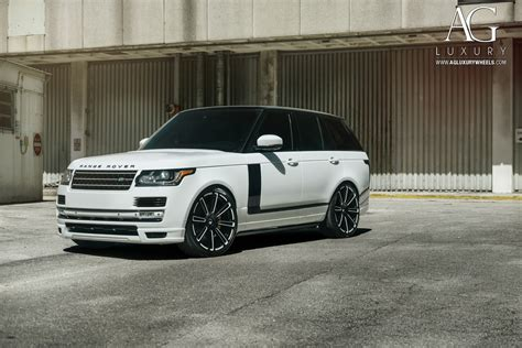 luxury black range rover ag luxury wheels range rover forged wheels