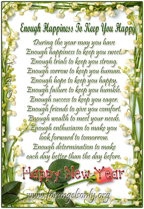 new year poem poems for new year