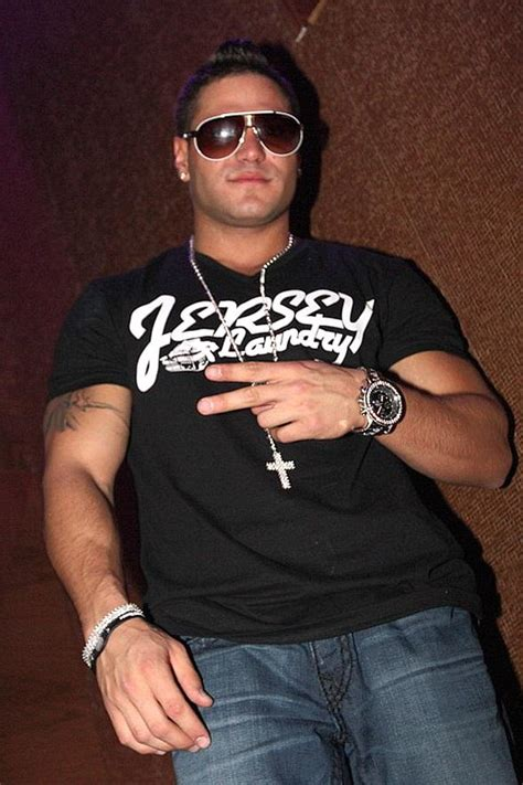 cross tattoo ronnie jersey shore ronnie from jersey shore at vanity nightclub in hard rock