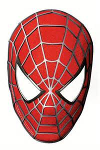free coloring pages of spiderman eye mask