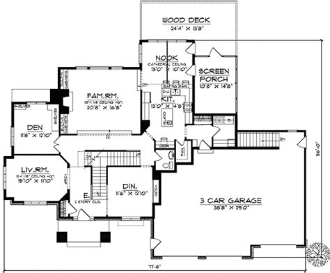 architecture photography entrance floor plan 132460 two story arching entrance and dramatic roof lines
