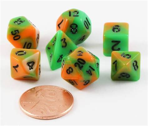miniatur orang gamel 7 dice sets for rpg page 10
