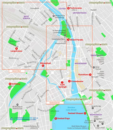 map of for tourists maps update 700572 switzerland tourist attractions map