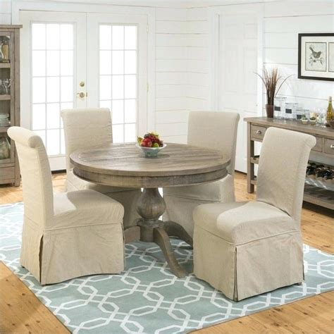 skirted dining room chairs skirted dining room chairs series slipcover parson and
