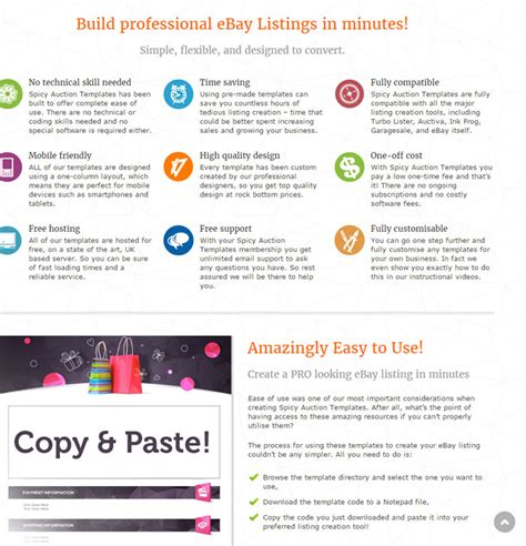 ebay s new feature free ebay listing template builder