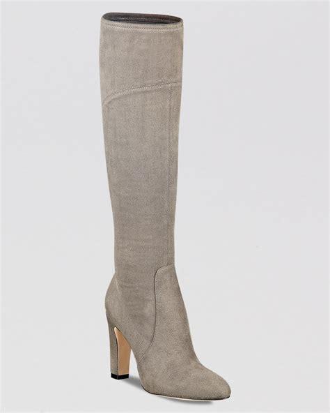high heel grey boots ivanka dress boots sennet high heel in gray