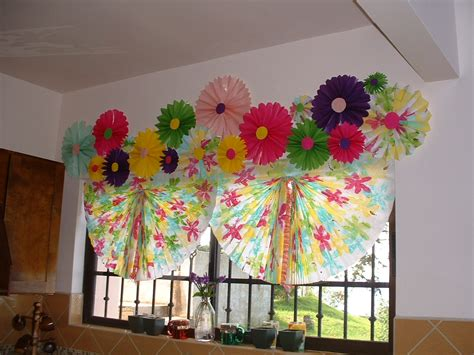 How To Make Paper Blinds - paper window shades say what house tropical