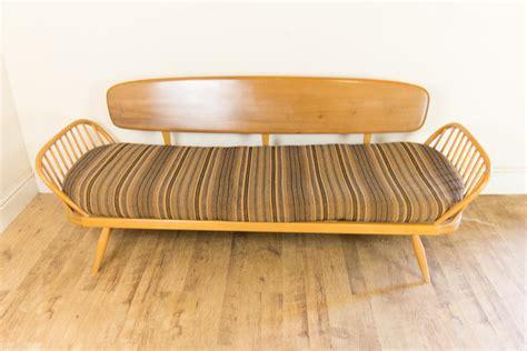ercol studio sofa ebay vintage retro ercol light elm day bed studio sofa