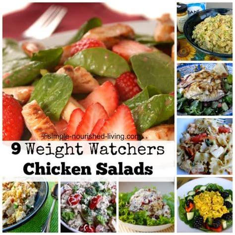 weight watchers recipes for chicken weight watchers chicken salad recipes free points plus