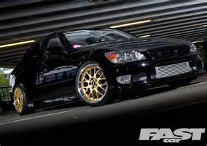 tuned lexus is200 fast car