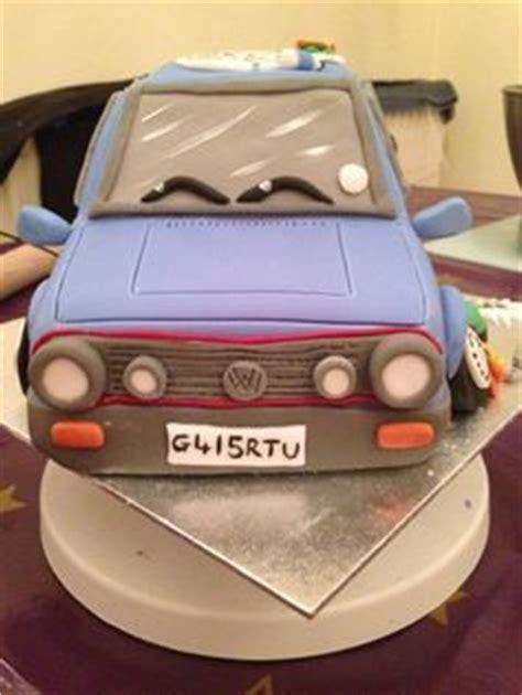 Golf Auto Torta by Vw Mk2 Golf Cake Ideas For Cake S Pinterest Golf