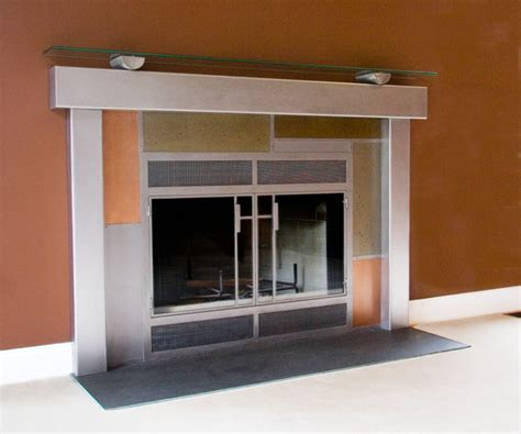 Fireplace Surrounds Modern by Modern Fireplace Surrounds Modern Living Room Dc