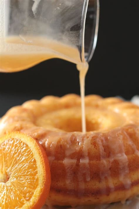 easy glazed orange bundt cake i knead to eat