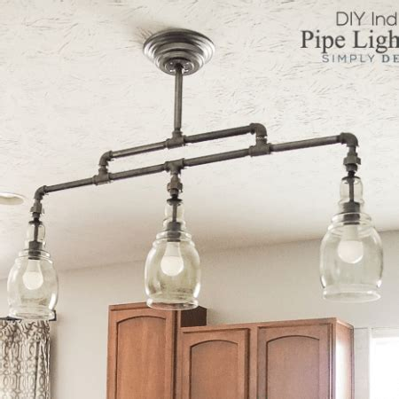 Diy Industrial Light Fixture Lighting Archives Simply Designing With
