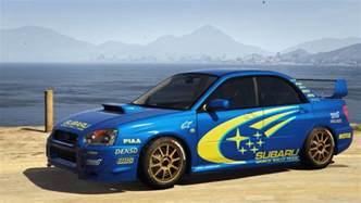 Subaru Wrx Imprezza Subaru Impreza Wrx Sti 2004 World Rally Team Livery