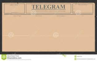 telegram template telegram stock vector image 44564150