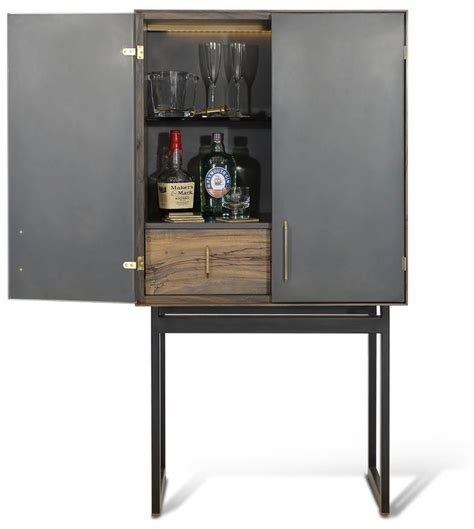Gotham Furniture by Gotham Bar Customizable Wood Metal And Resin For Sale