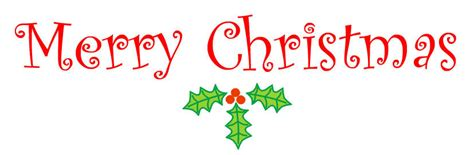 Free Merry Christmas clipart for your greetings card ... Free Clip Art Christmas Words